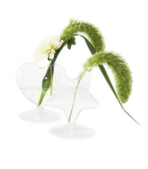 Happy Heart Flower Vase