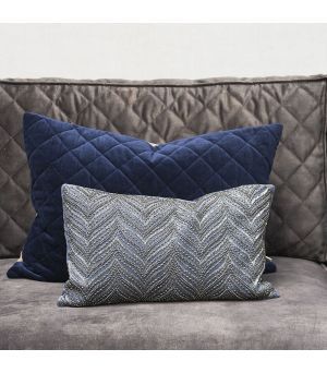 Návlek na vankúš Precious Imperial Velvet Pillow Cover midnight blue 50 x 30