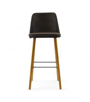 Barová stolička Vegas, Pellini, Espresso