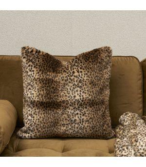 Návlek na vankúš Leopard  Faux Fur Pillow Cov. 50x50