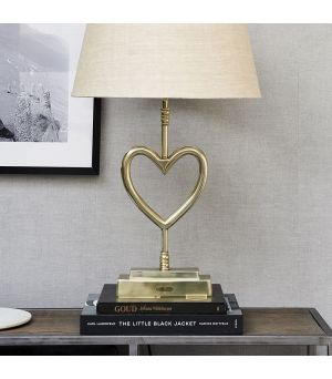 Lampa With Love Table Lamp soft gold