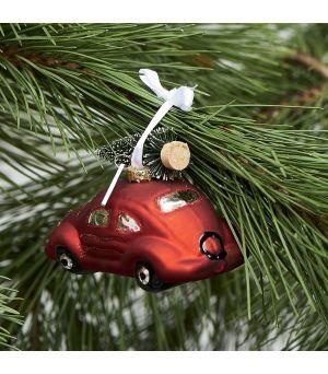 Vianočná ozdoba Winter Holiday Car