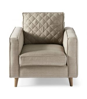Kreslo Kendall Armchair, Washed Cotton