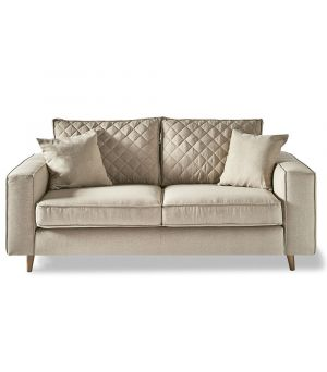 Kendall Sofa 2.5s, Oxford Weave, Flax