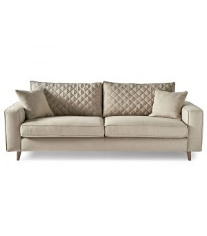 Kendall Sofa 3.5s, Oxford Weave, Flax