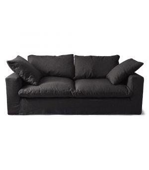 Residenza Sofa 3.5s, Ofxord Weave, Black