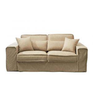 Metropolis Sofa 2.5s, Oxford Weave, Flax