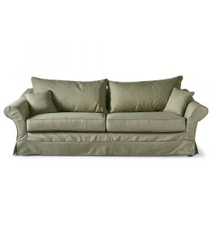 Bond Street Sofa 3.5s, Oxford Weave, Green
