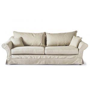 Bond Street Sofa 3.5s, Oxford Weave, Flax