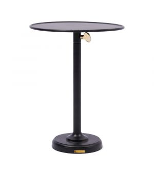 Stolík Venice Adjustable Sofa Table, Black L ∅ 40cm