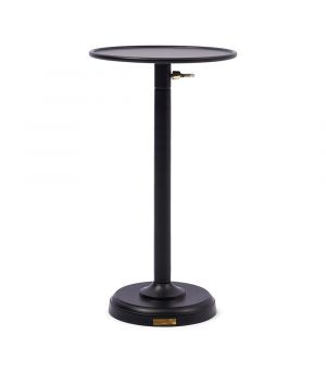 Venice Adjustable Sofa Table, Black M ∅ 29cm