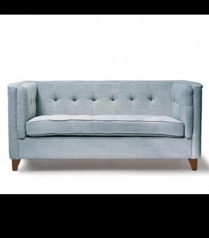 Sedačka Radziwill Sofa 2s, Linen, Blue