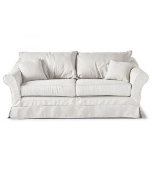 Sedačka Bond Street Sofa 2.5s, Oxford Weave, White