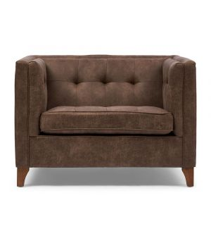 Radziwill Love Seat, Pellini, Coffee