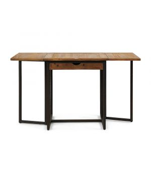 Rozkládací jedálenský stôl Shelter Island 74/122/170x70cm