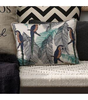 Návlek na vankúš Galapagos Parrot Pillow Cover
