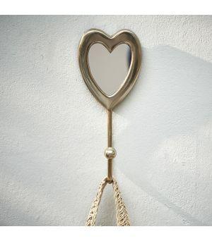 Vešiak RM Heart Mirror Hook