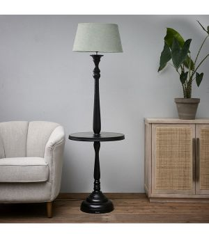 Stojacia lampa Clareridge Floor Lamp black