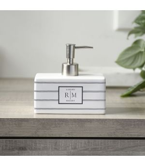 RM Block Stripes Soap Dispenser