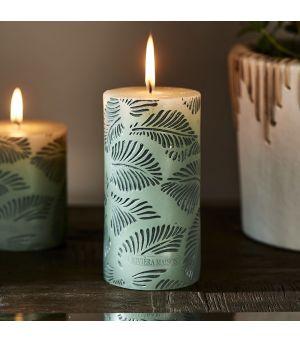 Sviečka Palm Leaves Candle 7 x 14