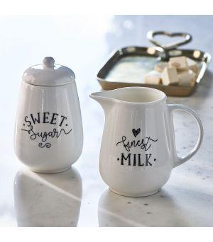Nádoba na mlieko a cukor Finest Milk & Sugar Set