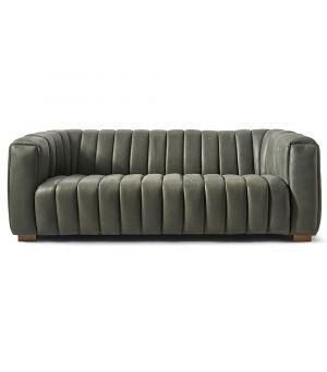 Sedačka Pulitzer Sofa 3.5s, Leather, Charcoal