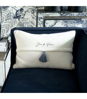 Tassle Pillow Cover 65 x 45