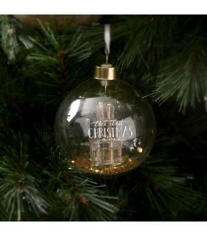The Best Christmas Ornament gold Dia 10