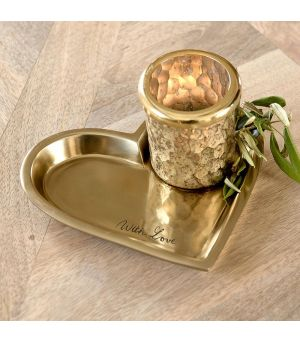 Podnos Lovely Heart Mini Serving Tray