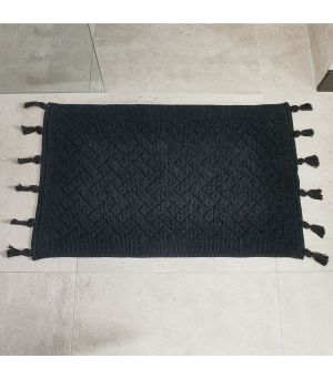 Bath Mat Pretty Tassel