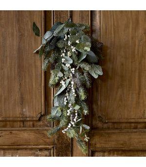 Under The Mistletoe Door Ornament