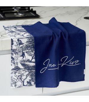 Joie De Vivre Tea Towel 2 pcs