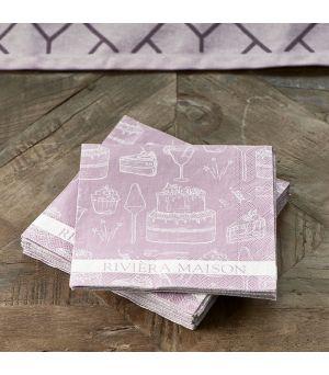 Papierové obrúsky Paper Napkin RM Loves Pie