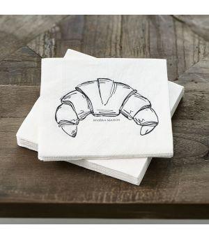 Papierové obrúsky Napkin Le Croissant