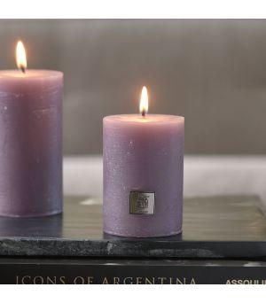 Rustic Candle lavendel 7 x 10
