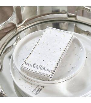 Papierové obrúsky Napkin RM Dots & Stripes