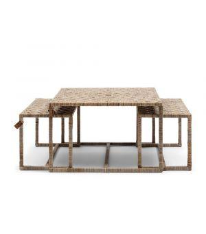 Konferenčný stolík Medan S/3, 64x70cm