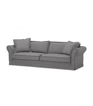 Carlton Sofa 3,5s, Oxford Weave, Steel Grey
