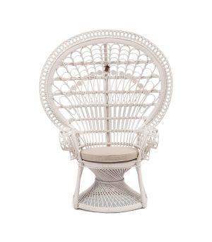 Kreslo Peacock Chair White