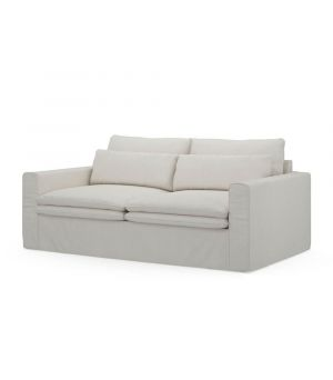 Continental Sofa 2,5s, Oxford Weave, AlasWhi