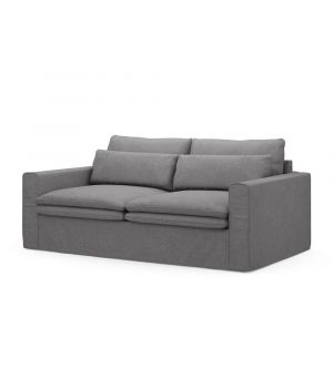 Continental Sofa 2,5s, Oxford Weave, StGrey