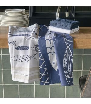 Utierka The Seafood Club Tea Towel 2 pieces