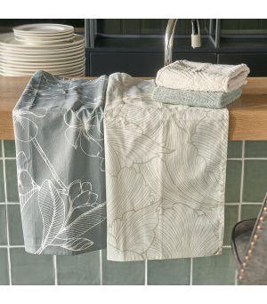 Utierka Les Fleurs Tea Towel 2 pieces