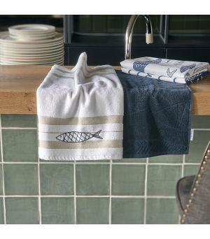 Uterák The Seafood Club Kitchen Towel 2 pieces