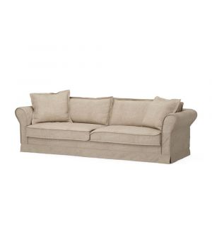 Carlton Sofa 3,5s, Washed Cotton, Natural
