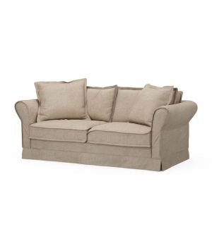 Carlton Sofa 2,5s, Washed Cotton, Natural