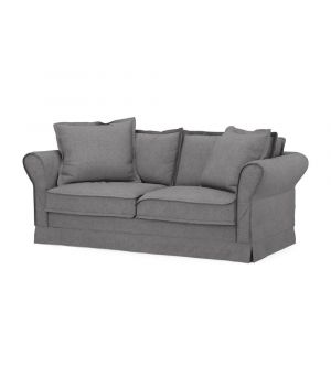 Carlton Sofa 2,5s, Oxford Weave, Steel Grey