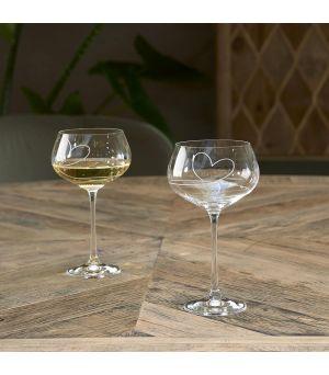 Pohár na biele víno With Love