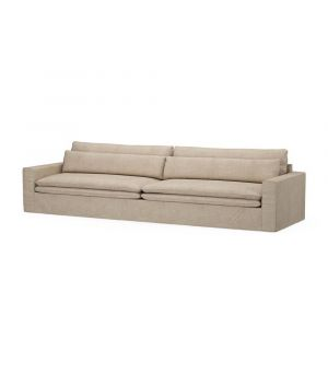 Continental Sofa XL, Washed Cotton, Natural