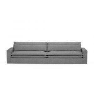 Sedačka Continental XL, Washed Cotton, Grey